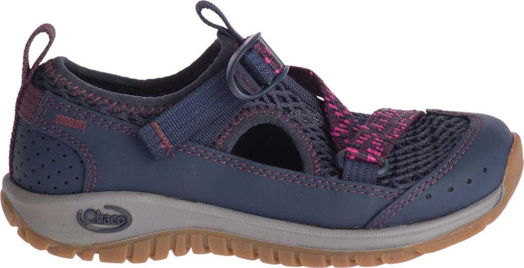 Children's Chaco Odyssey Vegan Sport Sandal, Purple Mesh, large, image 2