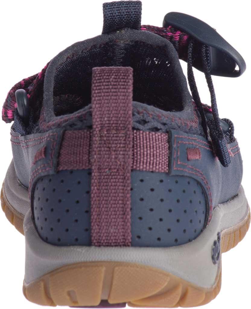 Children's Chaco Odyssey Vegan Sport Sandal, Purple Mesh, large, image 4