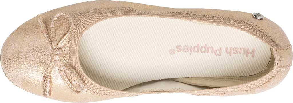 Girls' Hush Puppies Josie Ballet Flat, , large, image 4