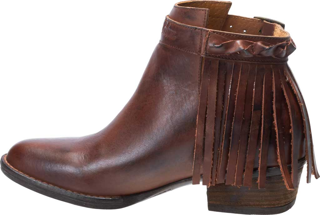 Women's Harley-Davidson Amory Ankle Bootie, Brown Full Grain Leather, large, image 3
