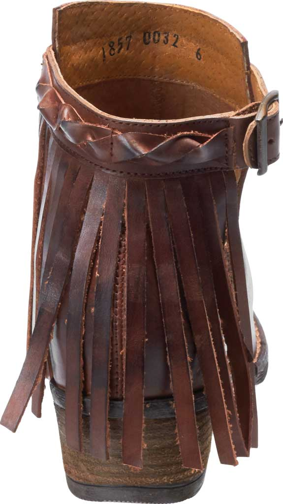 Women's Harley-Davidson Amory Ankle Bootie, Brown Full Grain Leather, large, image 4