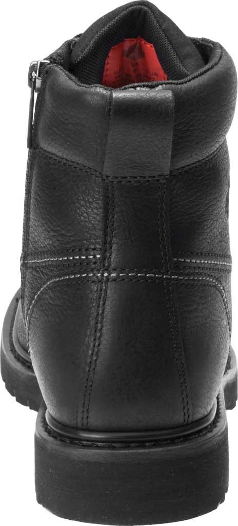 Men's Harley-Davidson Markston Motorcycle Boot, Black Full Grain Leather, large, image 4