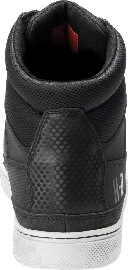 Men's Harley-Davidson Eagleson Motorcycle Shoe, Black Full Grain Leather/Mesh, large, image 4