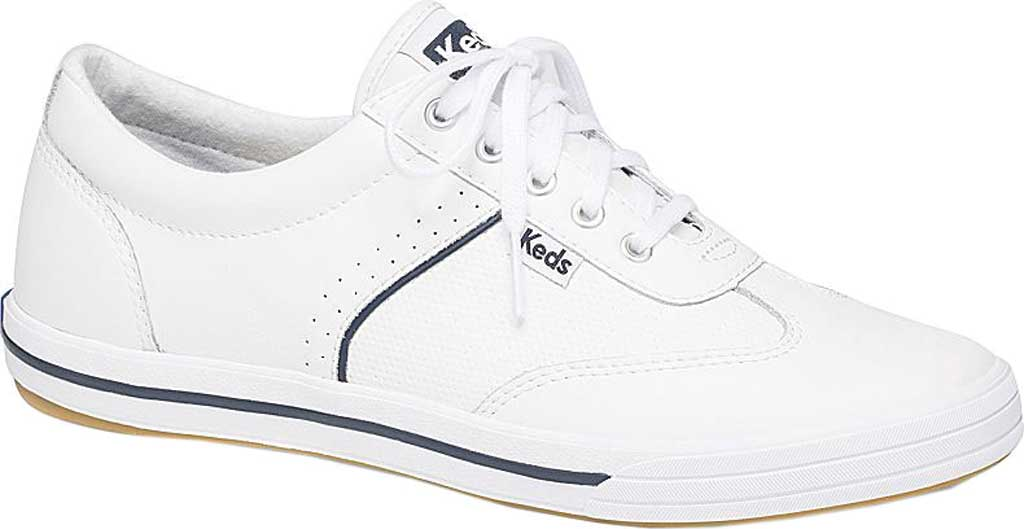 Women's Keds Courty Core Sneaker, White Leather, large, image 1