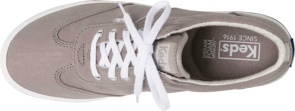 Women's Keds Courty Core Sneaker, Gray (Twill), large, image 4