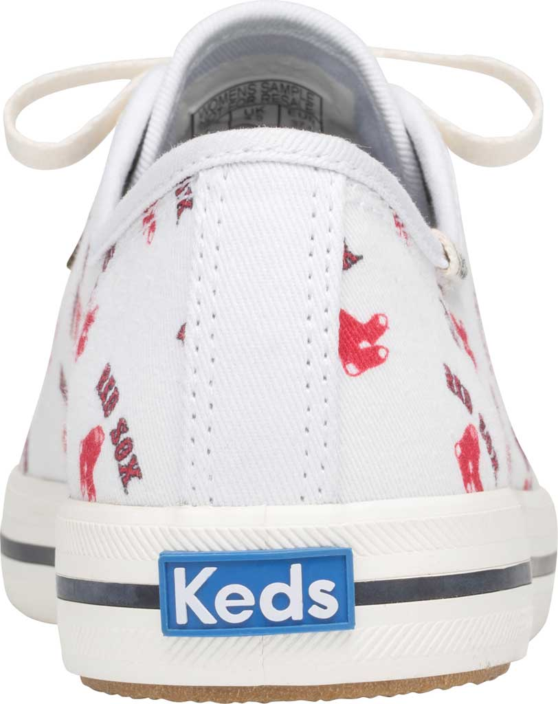 Women's Keds Kickstart MLB Sneaker, Red Sox Canvas, large, image 3
