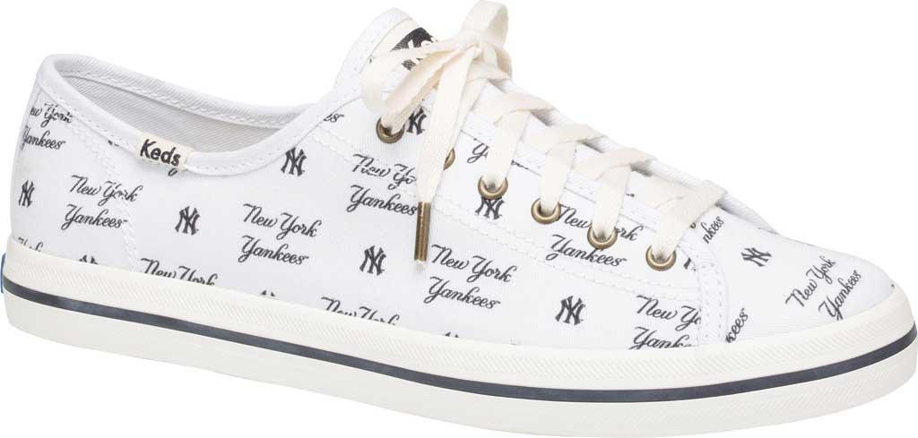 Women's Keds Kickstart MLB Sneaker, Yankees Canvas, large, image 1