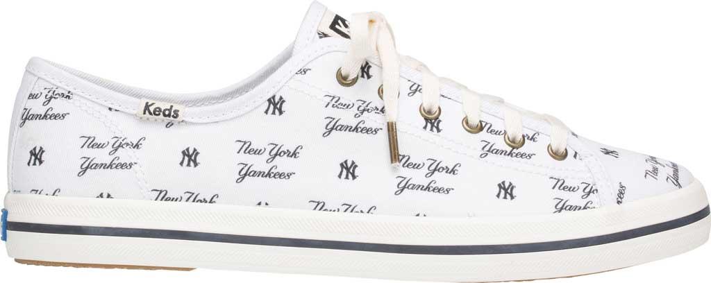 Women's Keds Kickstart MLB Sneaker, Yankees Canvas, large, image 2