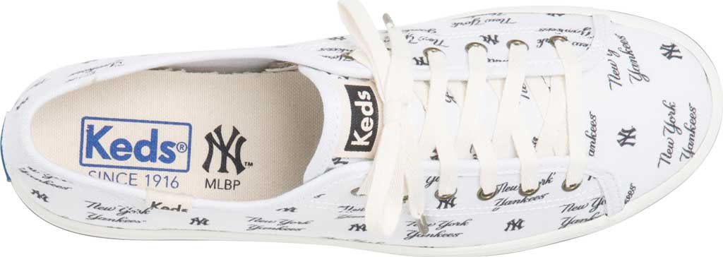 Women's Keds Kickstart MLB Sneaker, Yankees Canvas, large, image 4