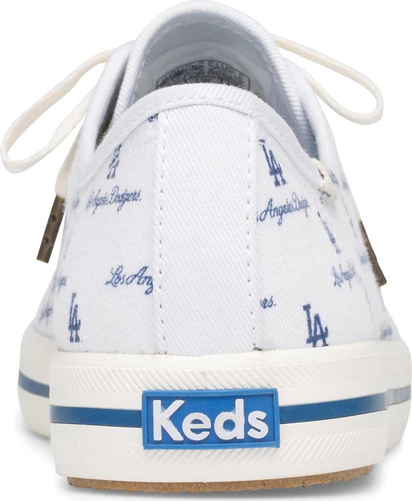 Women's Keds Kickstart MLB Sneaker, Dodgers Canvas, large, image 3