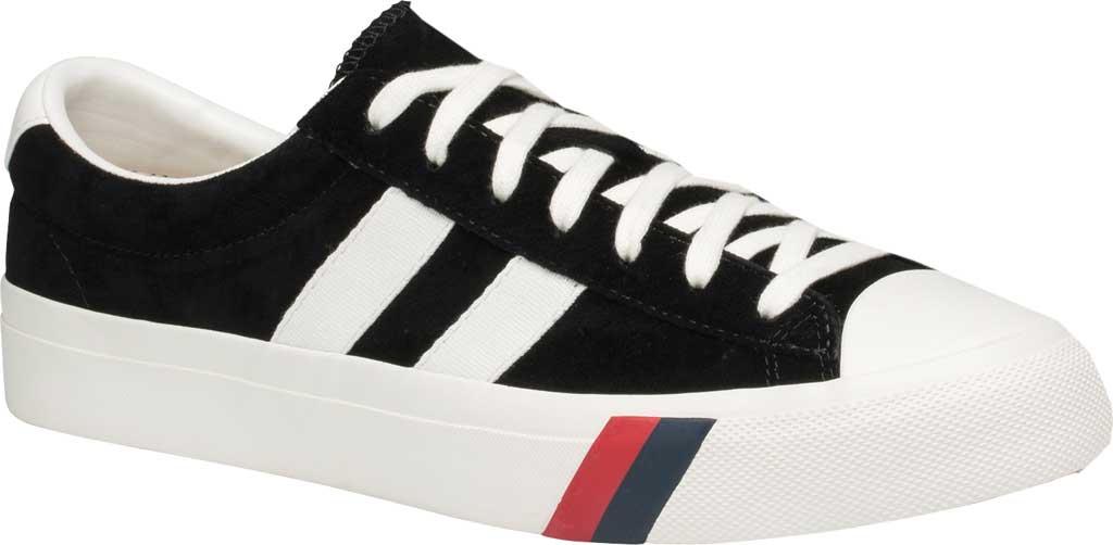 Keds PRO-Keds Royal Plus Suede Sneaker, Black, large, image 1