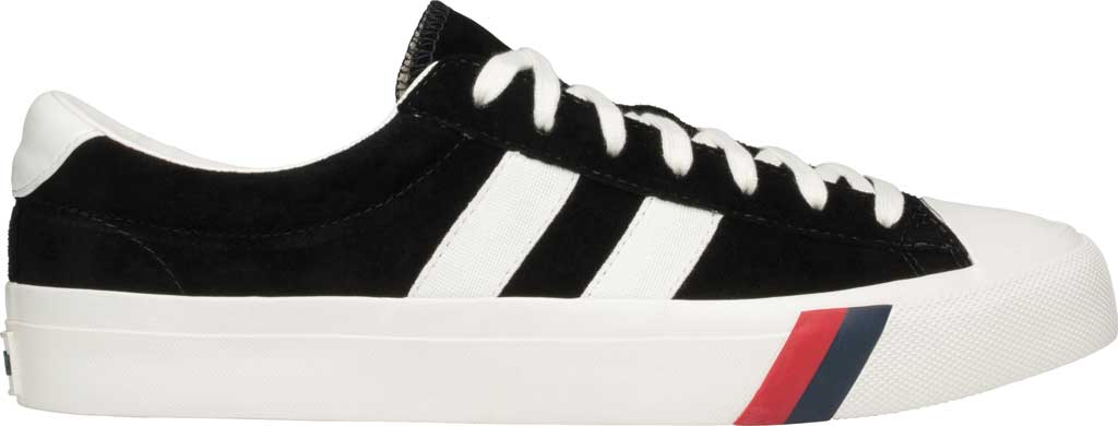 Keds PRO-Keds Royal Plus Suede Sneaker, Black, large, image 2