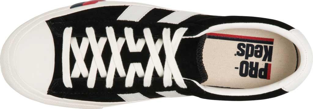 Keds PRO-Keds Royal Plus Suede Sneaker, Black, large, image 3