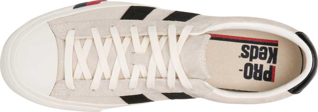 Keds PRO-Keds Royal Plus Suede Sneaker, Cream, large, image 3