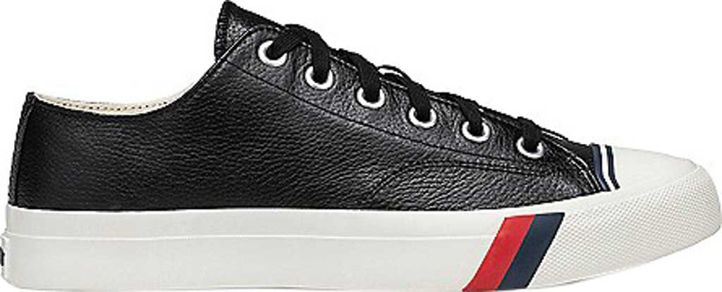 Keds PRO-Keds Royal Lo Classic Sneaker, Black Tumbled Leather, large, image 2
