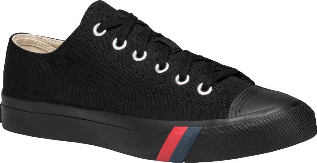 Keds PRO-Keds Royal Lo Classic Sneaker, Black/Black, large, image 1