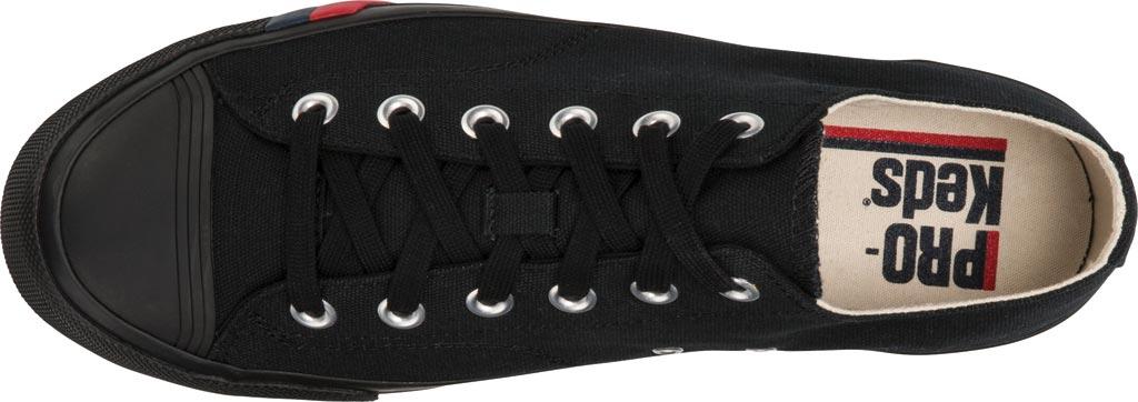 Keds PRO-Keds Royal Lo Classic Sneaker, Black/Black, large, image 3
