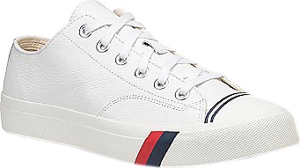 Keds PRO-Keds Royal Lo Classic Sneaker, White Tumbled Leather, large, image 1
