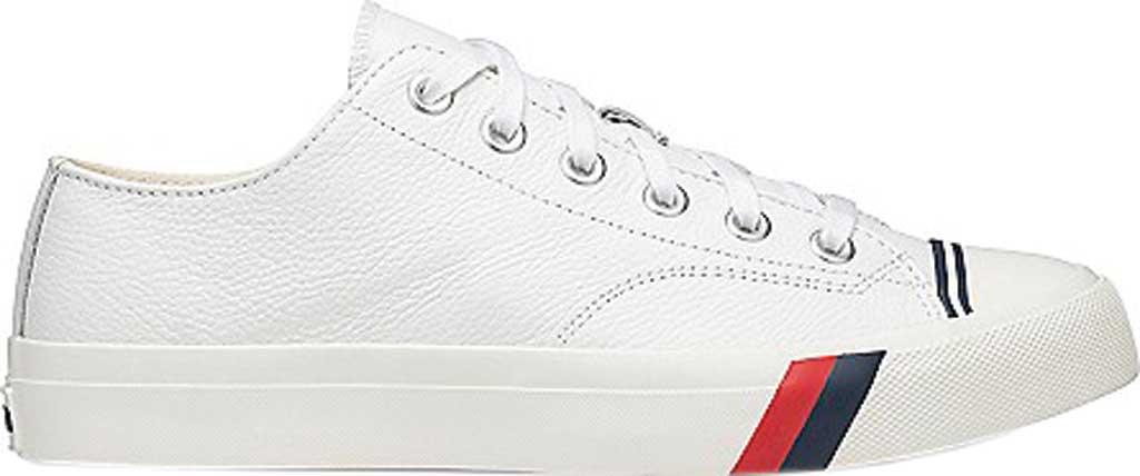 Keds PRO-Keds Royal Lo Classic Sneaker, White Tumbled Leather, large, image 2