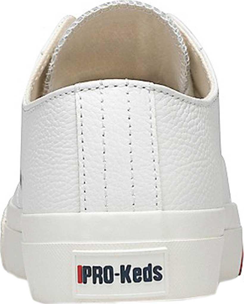 Keds PRO-Keds Royal Lo Classic Sneaker, White Tumbled Leather, large, image 3