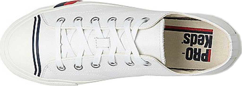 Keds PRO-Keds Royal Lo Classic Sneaker, White Tumbled Leather, large, image 4