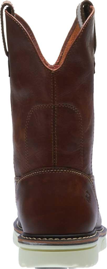 Men's Wolverine I-90 DuraShocks Wedge Wellington Comp Toe Boot, Brown Full-Grain Leather, large, image 4
