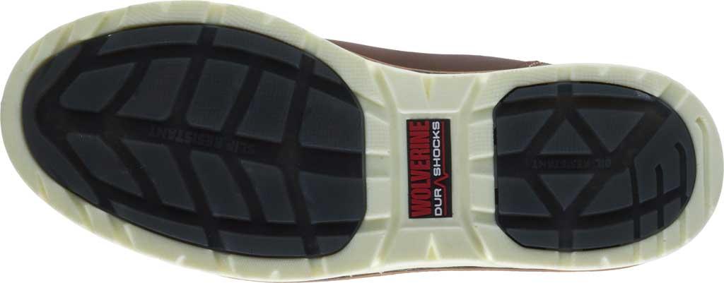 Men's Wolverine I-90 DuraShocks Wedge Wellington Comp Toe Boot, Brown Full-Grain Leather, large, image 6