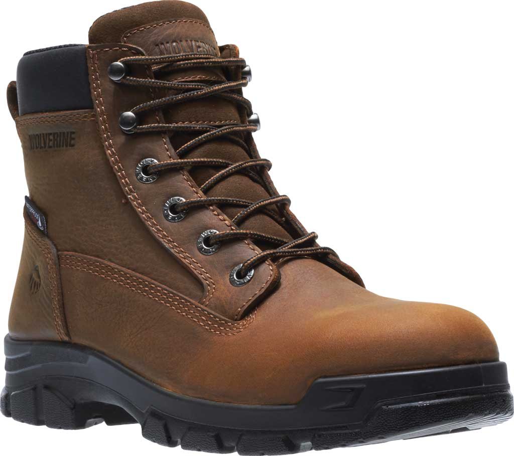 Men's Wolverine Chainhand Waterproof Soft Toe Work Boot, , large, image 1