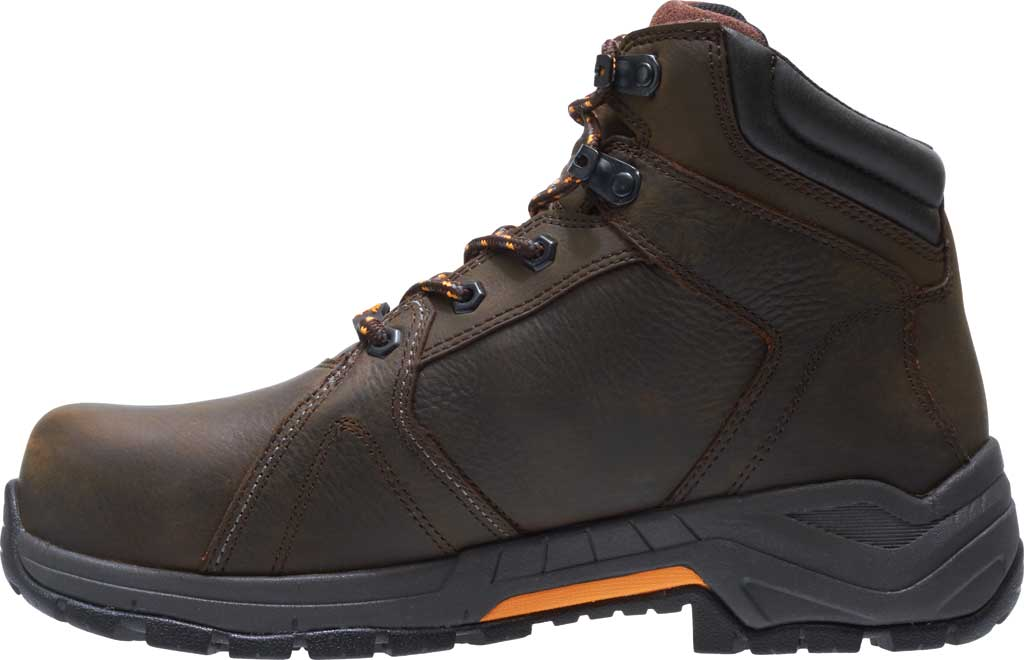 Men's Wolverine Contractor LX EPX Composite Toe Work Boot, Brown Waterproof Full Grain Leather, large, image 3