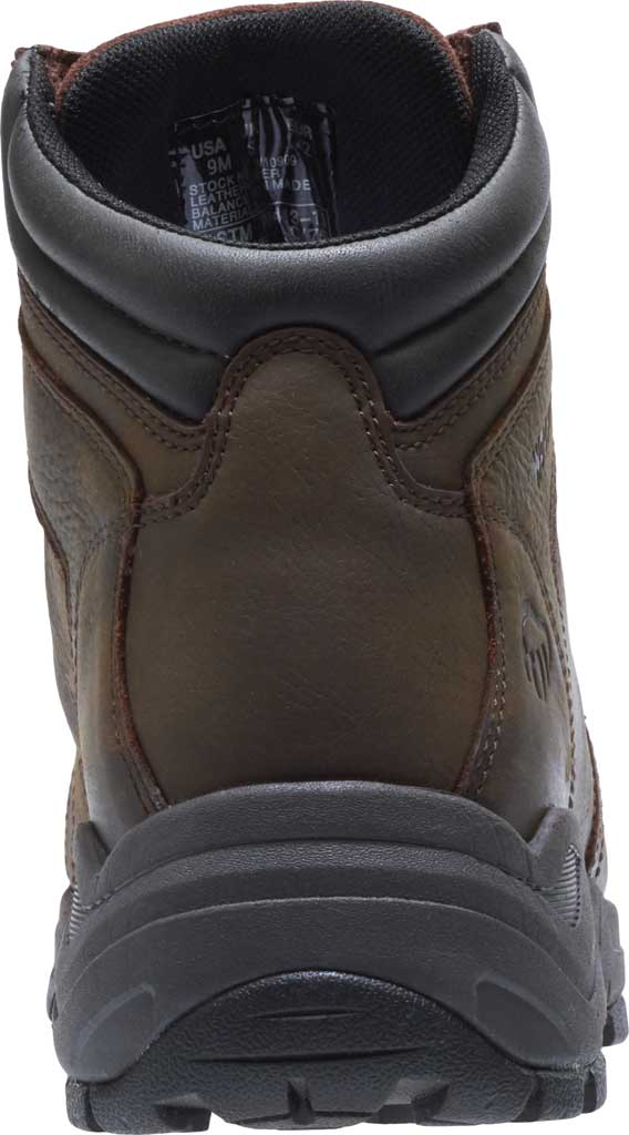 Men's Wolverine Contractor LX EPX Composite Toe Work Boot, Brown Waterproof Full Grain Leather, large, image 4