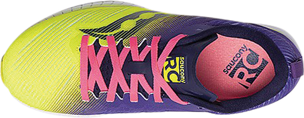 Women's Saucony Fastwitch 9 Sneaker, Citron, large, image 4