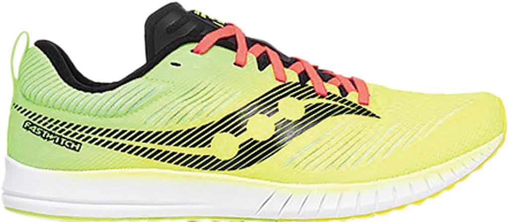 Men's Saucony Fastwitch 9 Sneaker, Citron, large, image 2