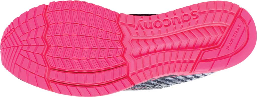 Women's Saucony Type A9 Running Sneaker, White/Pink, large, image 5