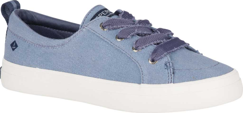 Women's Sperry Top-Sider Crest Vibe Vintage Sneaker, Blue Twill, large, image 1