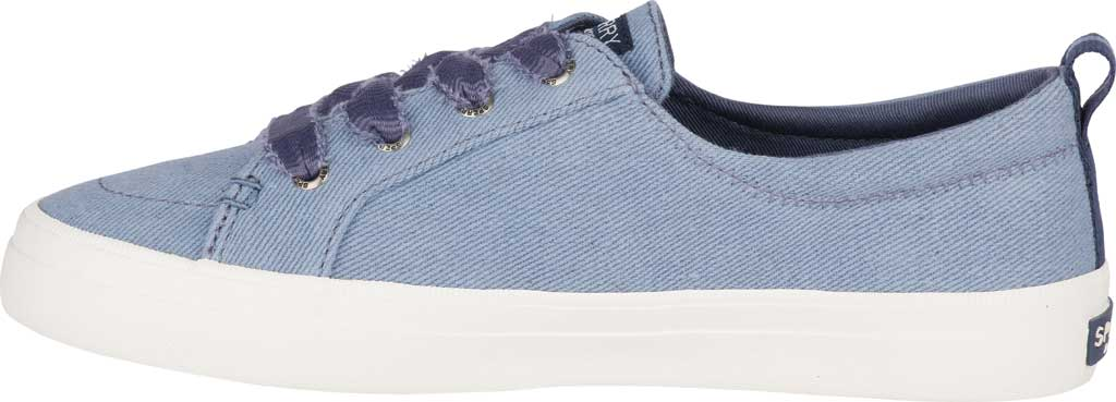 Women's Sperry Top-Sider Crest Vibe Vintage Sneaker, Blue Twill, large, image 3