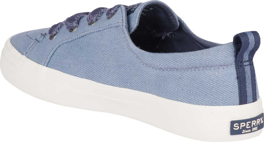 Women's Sperry Top-Sider Crest Vibe Vintage Sneaker, Blue Twill, large, image 4