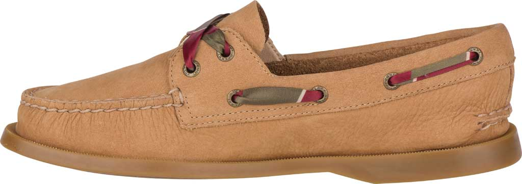 Women's Sperry Top-Sider Authentic Original 2-Eye Varsity Boat Shoe, Tan Leather, large, image 3