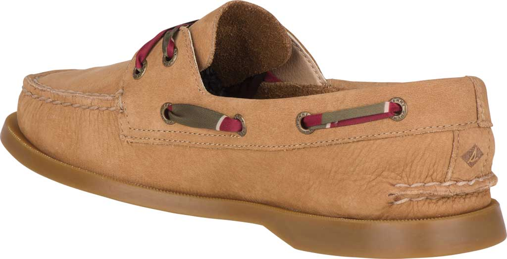 Women's Sperry Top-Sider Authentic Original 2-Eye Varsity Boat Shoe, Tan Leather, large, image 4