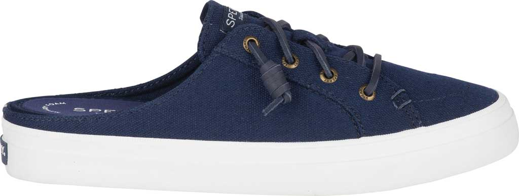 Women's Sperry Top-Sider Crest Vibe Sneaker Mule, Navy Canvas, large, image 2