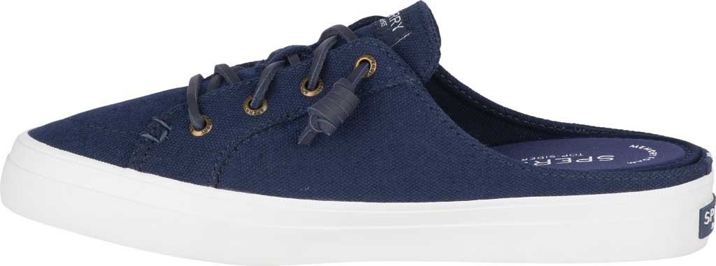 Women's Sperry Top-Sider Crest Vibe Sneaker Mule, Navy Canvas, large, image 3