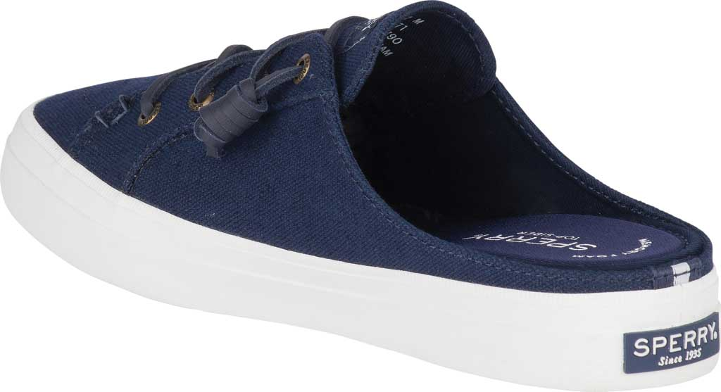 Women's Sperry Top-Sider Crest Vibe Sneaker Mule, Navy Canvas, large, image 4
