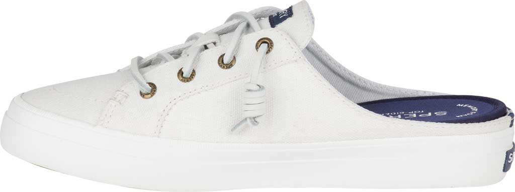 Women's Sperry Top-Sider Crest Vibe Sneaker Mule, White Canvas, large, image 3