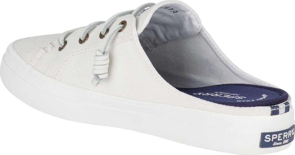 Women's Sperry Top-Sider Crest Vibe Sneaker Mule, White Canvas, large, image 4
