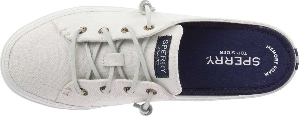 Women's Sperry Top-Sider Crest Vibe Sneaker Mule, White Canvas, large, image 5