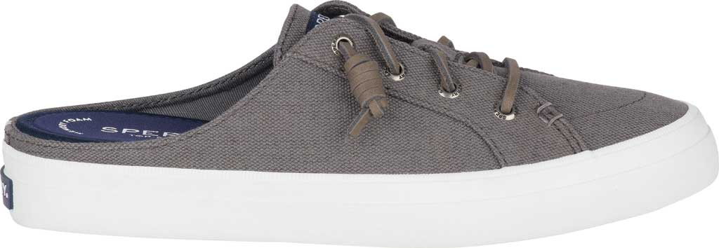 Women's Sperry Top-Sider Crest Vibe Sneaker Mule, Grey Canvas, large, image 2