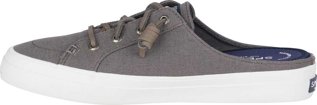 Women's Sperry Top-Sider Crest Vibe Sneaker Mule, Grey Canvas, large, image 3