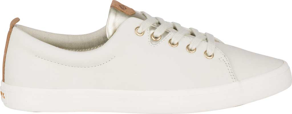 Women's Sperry Top-Sider Sailor Lace To Toe Sneaker, Ivory Leather, large, image 2