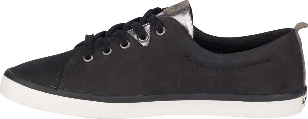 Women's Sperry Top-Sider Sailor Lace To Toe Sneaker, Black Leather, large, image 3