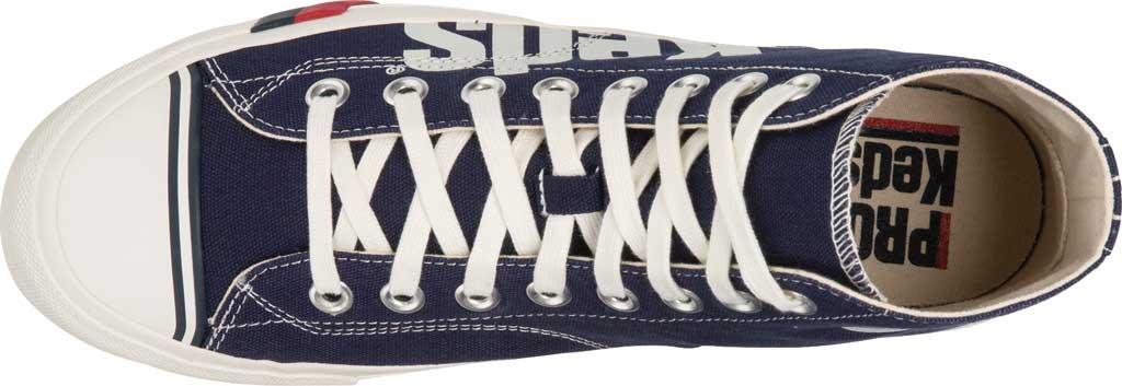 Men's Keds PRO-Keds Royal High Top Sneaker, Navy/White Canvas, large, image 3