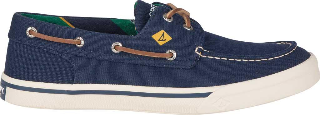 Men's Sperry Top-Sider Bahama II Varsity Boat Sneaker, Navy Textile, large, image 2